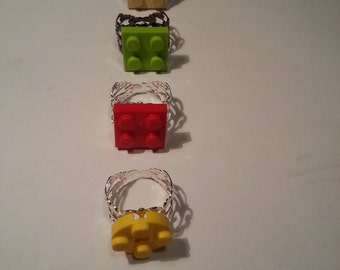 Adjustable Lego ring