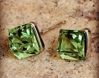Swarovski® Crystal & 18K Platinum Plated Earrings