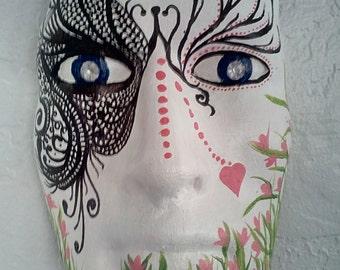 pink iron mask