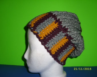 Beanie with wide waistband