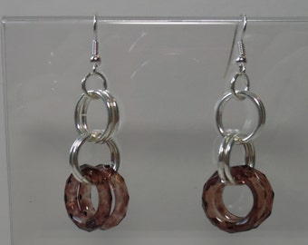 SP Rings & Acrylic Rings on SP Ear Wires