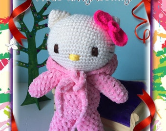 Amigurumi crochet : Hello Kitty Pink Bunny