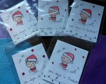 """Card Christmas!  """"I get this year"""""""