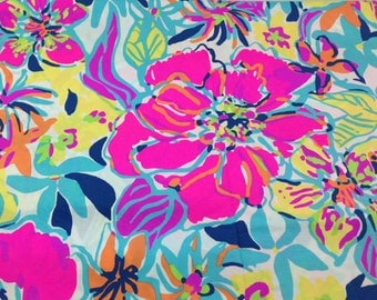 BESAME me MUCHO Fabric 18x18 or 18x9 Lilly