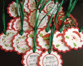 20 Special Christmas Gift Tags Treat Tags