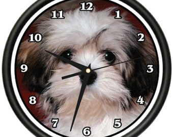 Havanese Wall Clock Dog Doggie Pet Breed Gift