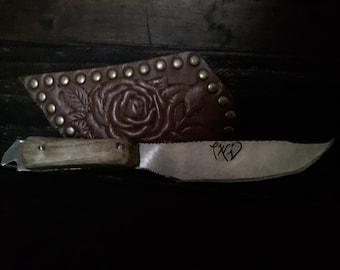 Hand Made Sawblade Knife