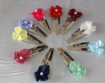 Girls Hair Clips and Combs Pk of 4 ( Mixed )