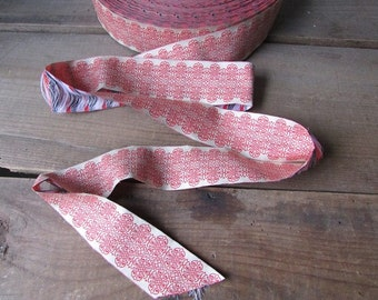 Vintage Wide French Ribbon Sold By the Yard