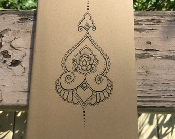 Floral Moleskine Notebook