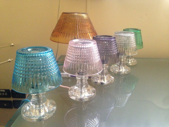 Items Similar To Bed Lamp Very Small Crystal Lamp And