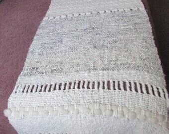 Footboard sheep wool