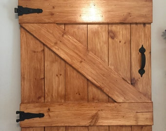 Decorative Barn Door
