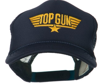 Youth Top Gun Embroidered Foam Mesh Cap