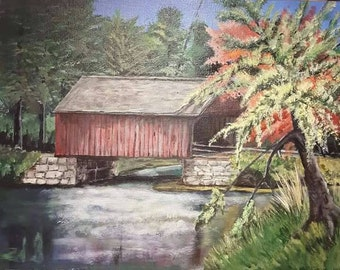 Covered Bridge Rustic
