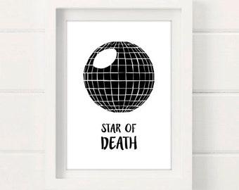 Star of death PRINT
