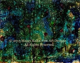6 - Modern Art Abstract Print