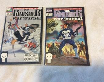 1991 Marvel Comics The Punisher war journal (2) comics