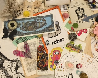 Medium Ephemera Pack (50) Vintage Paper Lot