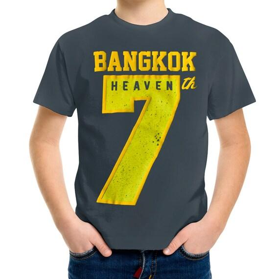 TepThaiTewa : Bangkok 7th Heaven Vintage Style Boys' T-Shirt
