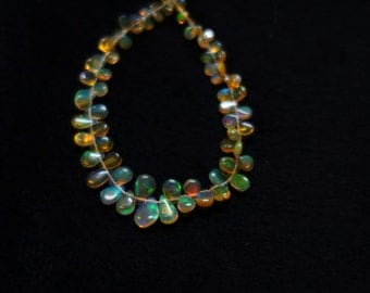 Ethiopian Opal Smooth Pears AAA quality  ET004