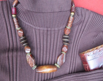 Wood  beads delight. Free shipping in USA.