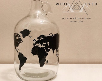 Wide Eyed Wanderer Travel Jar