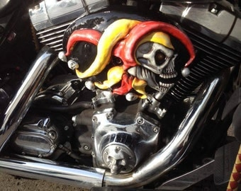 3-D Custom Made Motorcycle Parts -Made To Order- One Of A Kind-REALLY 3-D