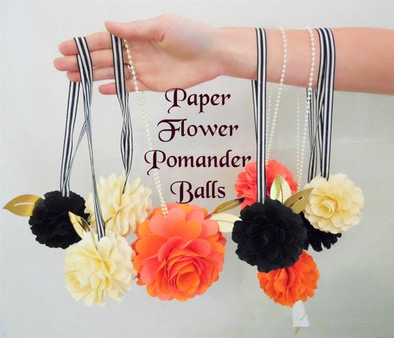 PAPER FLOWER BALLS Diy Wedding Decor Diy Flower Templates