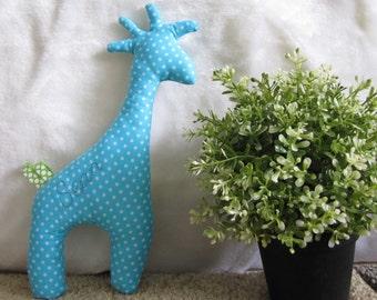 Handmade giraffe toy, baby gift,handmade,kids room, can be personalized, girl,boy,DIY