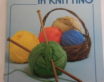 First Steps in Knitting by Mary Thomas
