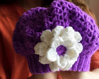 Hat beret for girl