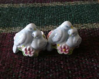 Avon, Lovebirds, Napkin / Candle Rings, 1983