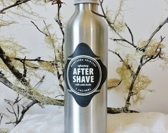 After Shave Toner, Botanical After Shave, After Shave with Wild Herbs and Oils, Mens After Shave, After Shave Gift For Men