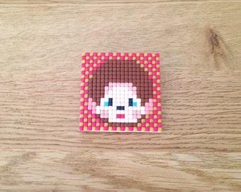 Kiki Pixels Brooch
