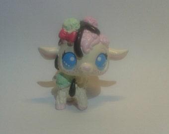 LPS Custom Ice Cream Sheep