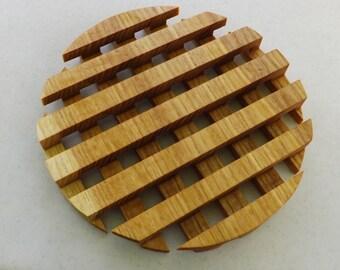 Wood Trivet (Round)