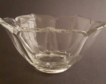 Ebeling  Reuss Crystal Bowl 1982