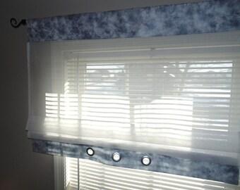 Kitchen curtain valance, Roman shade,  Custom curtains, Sheer curtains, Curtains sheers, Window treatment valances, Window valance