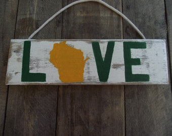 Packers sign | Green Bay sign | Packers fan sign | Packers decor | Packers wall sign | Hand-painted Packer sign