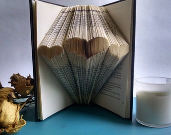 Gift For Dad, Folded Book Art, Gift Ideas for Fathers Day, Decorative Book