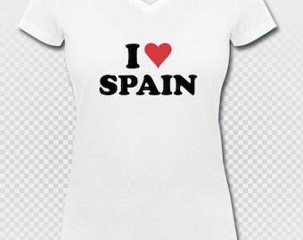 I love spain t-shirt españa ole