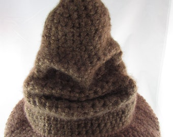 Harry Potter Crocheted Sorting Hat -free shipping