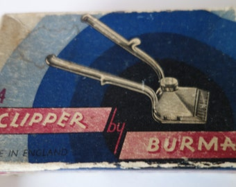 Vintage hair clippers by Burman