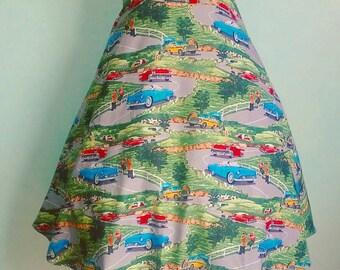 50s Road Trip Skirt