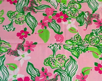 Pink Tiger Lilly Lilly Pulitzer Fabric