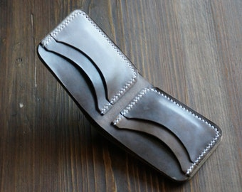 Classic Horween Bifold - Natural CXL Leather