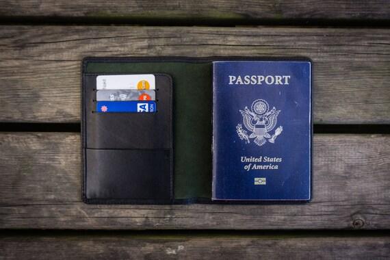 No 07 Leather Passport Cover Travel Wallet Passport Holder