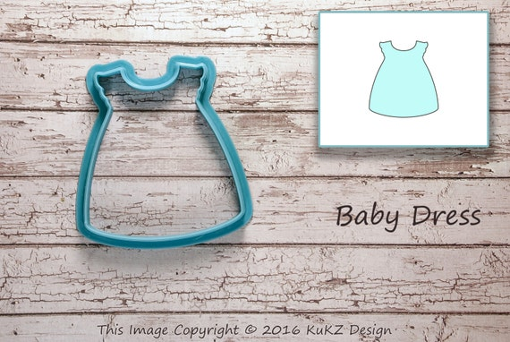 baby dress cookie cutter baby shower cookie cutter cookie cutters