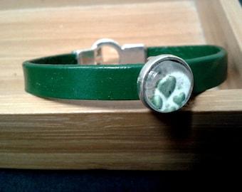 Heart of hearts - BSV7 leather bracelet